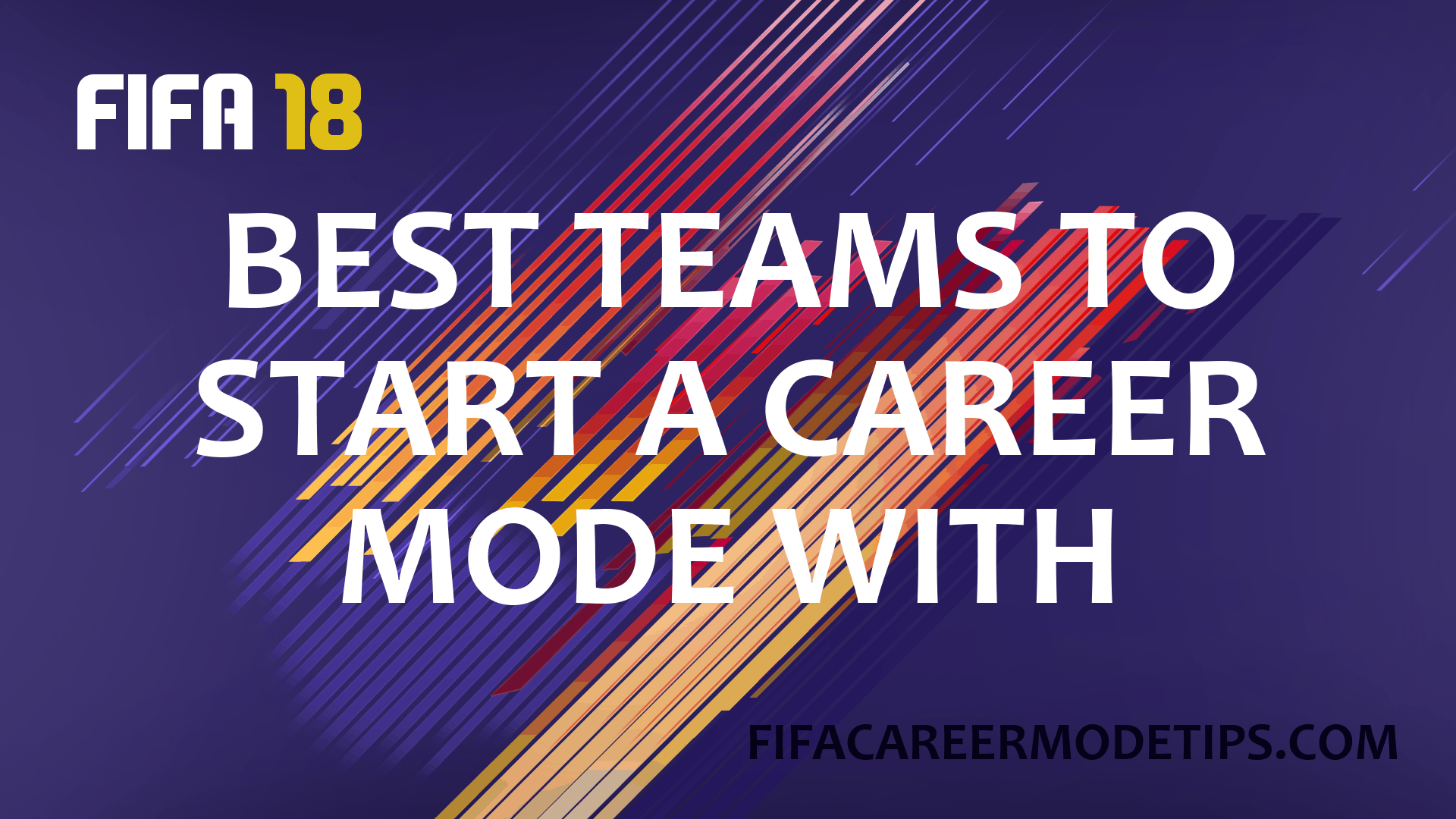 Best Teams to Start a Career Mode With