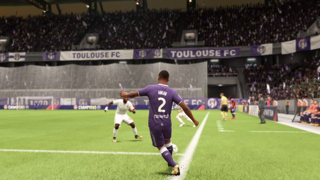 Adou in action for Toulouse