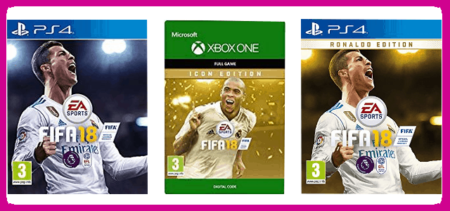 FIFA 18: Ronaldo, ICON and Standard Editions Compared