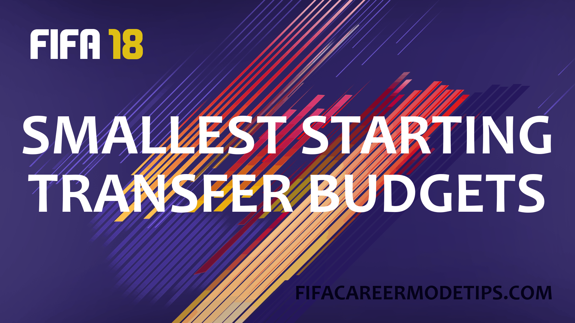 Smallest Transfer Budgets
