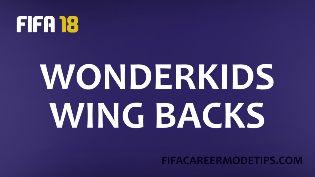 Wonderkids Wing Backs
