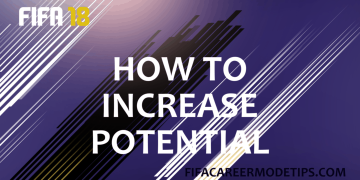 How to Increase Potential of a Player in Career Mode