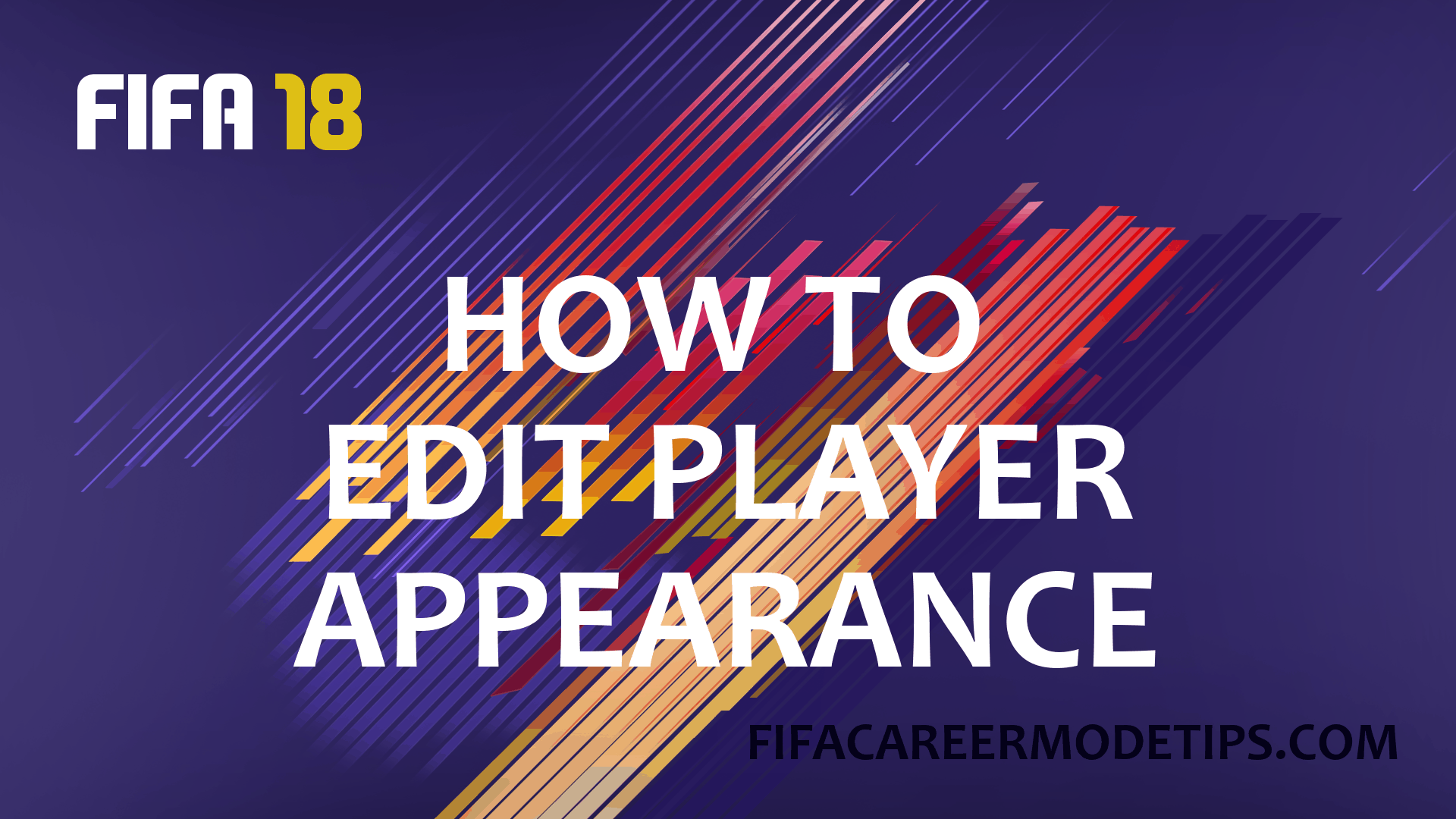 How to Edit Player Appearance