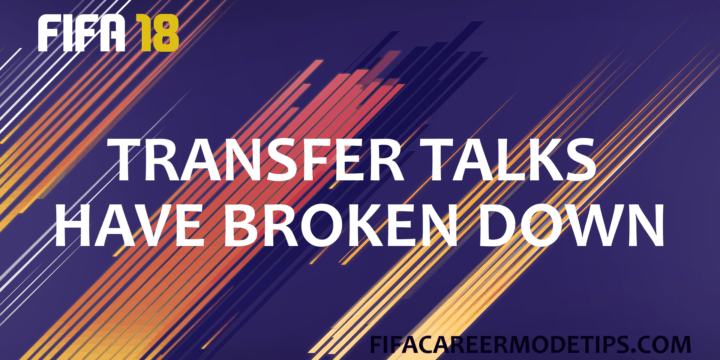 Transfer Talks Broken Down in FIFA 18