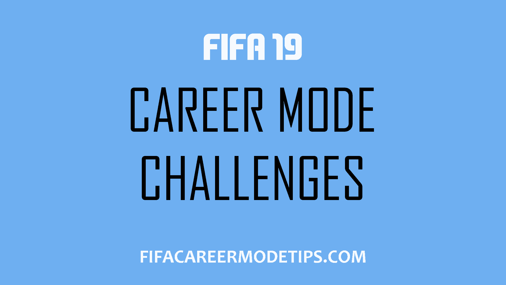 FIFA Career Mode Challenges