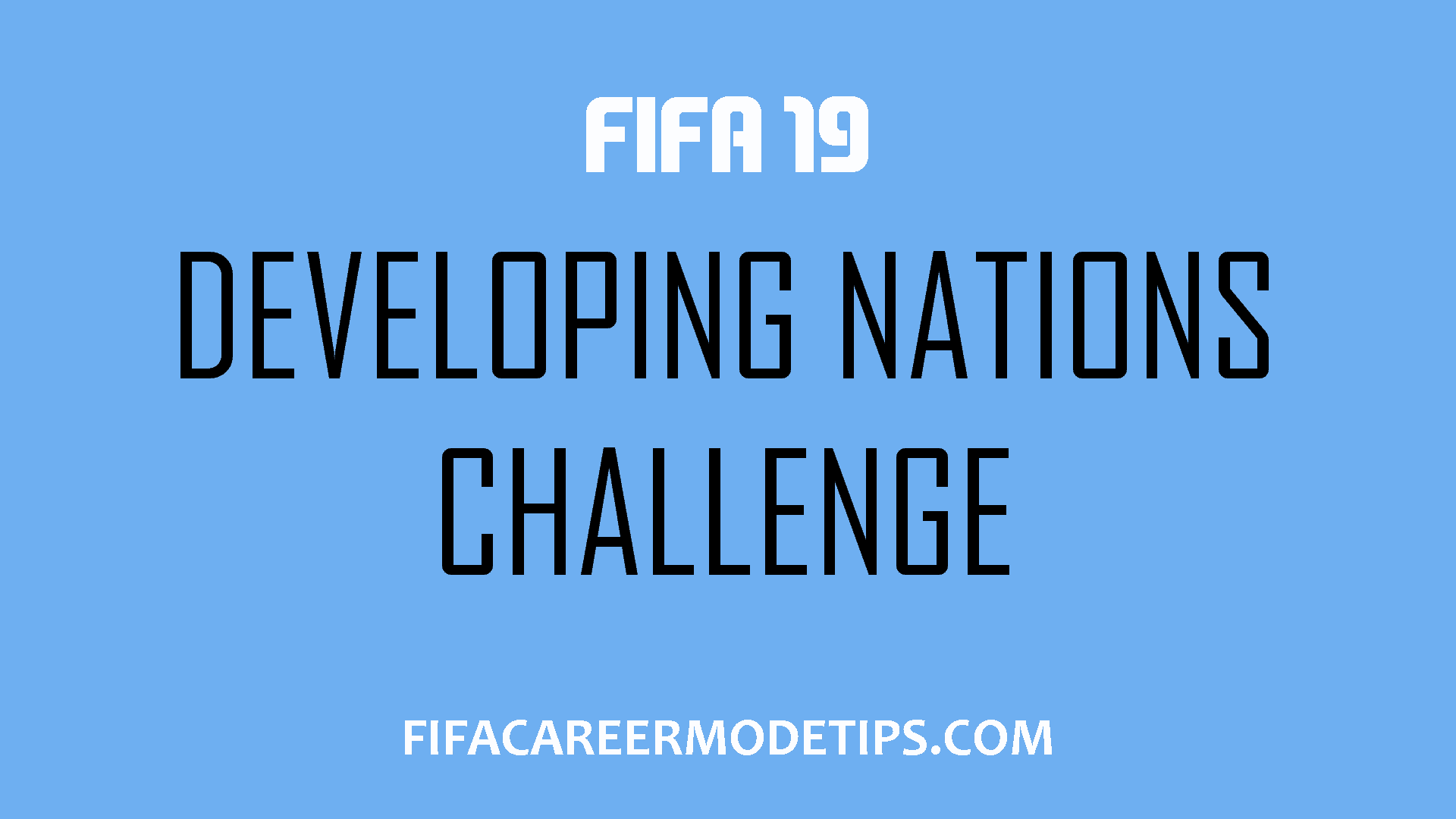 Developing Nations Challenge